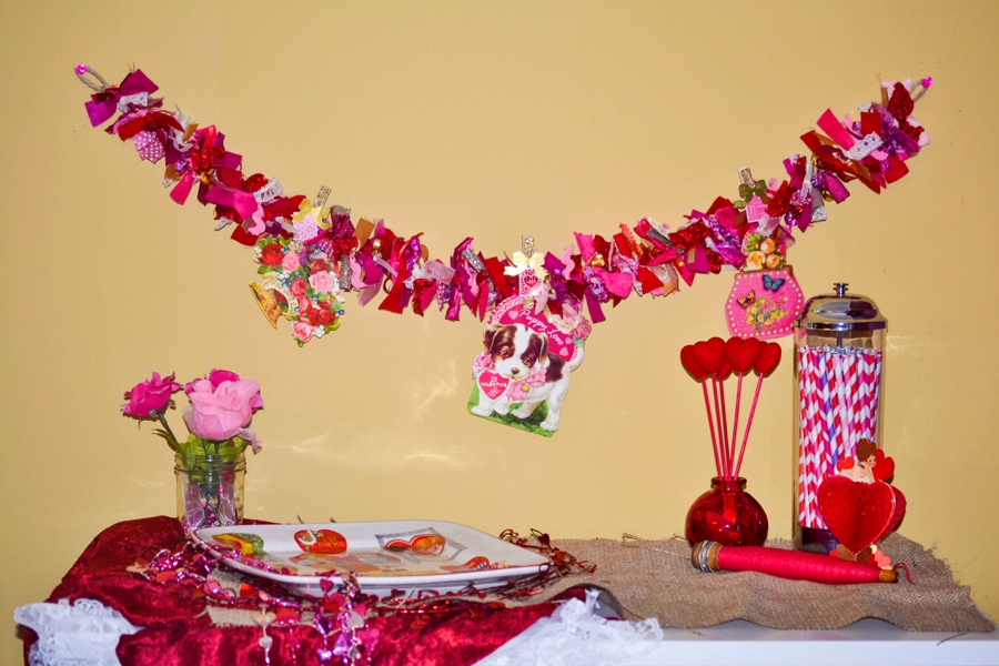 LoveColorful ValentineGarland 0003 Beautiful And Romantic Style Garland