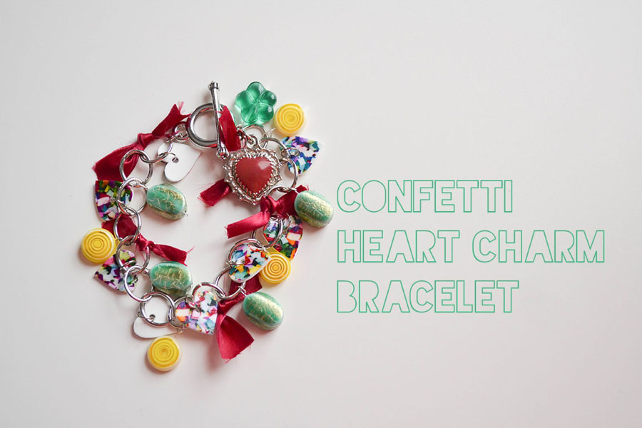 LoveColorful_Confetti Heart Charm Bracelets_0002