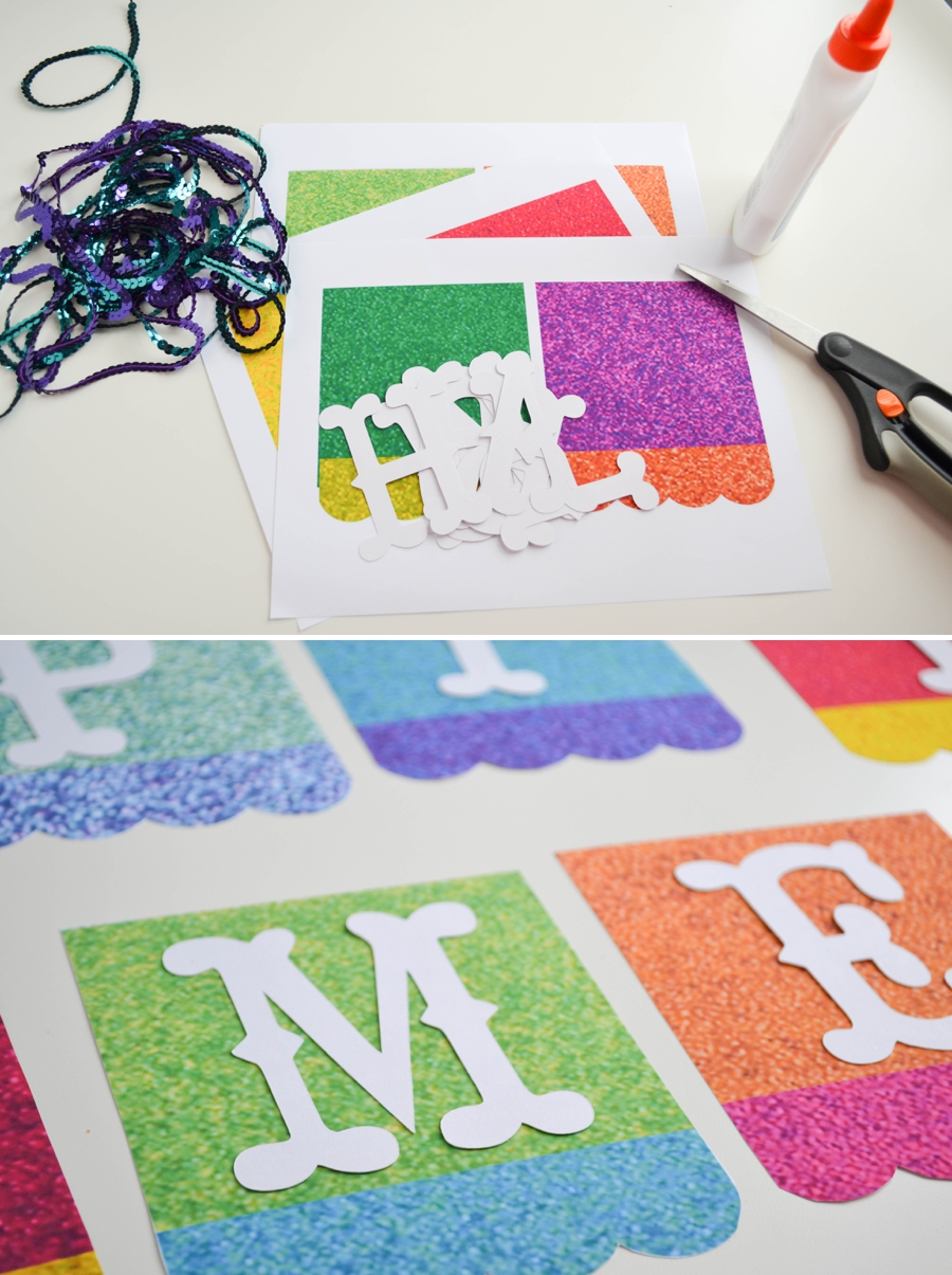LoveColorful_Happy Home Glitter Banner_0002