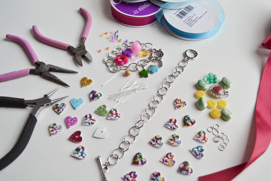 LoveColorful_Confetti Heart Charm Bracelets_0006