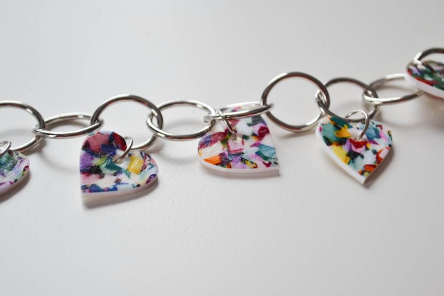 LoveColorful_Confetti Heart Charm Bracelets_0007