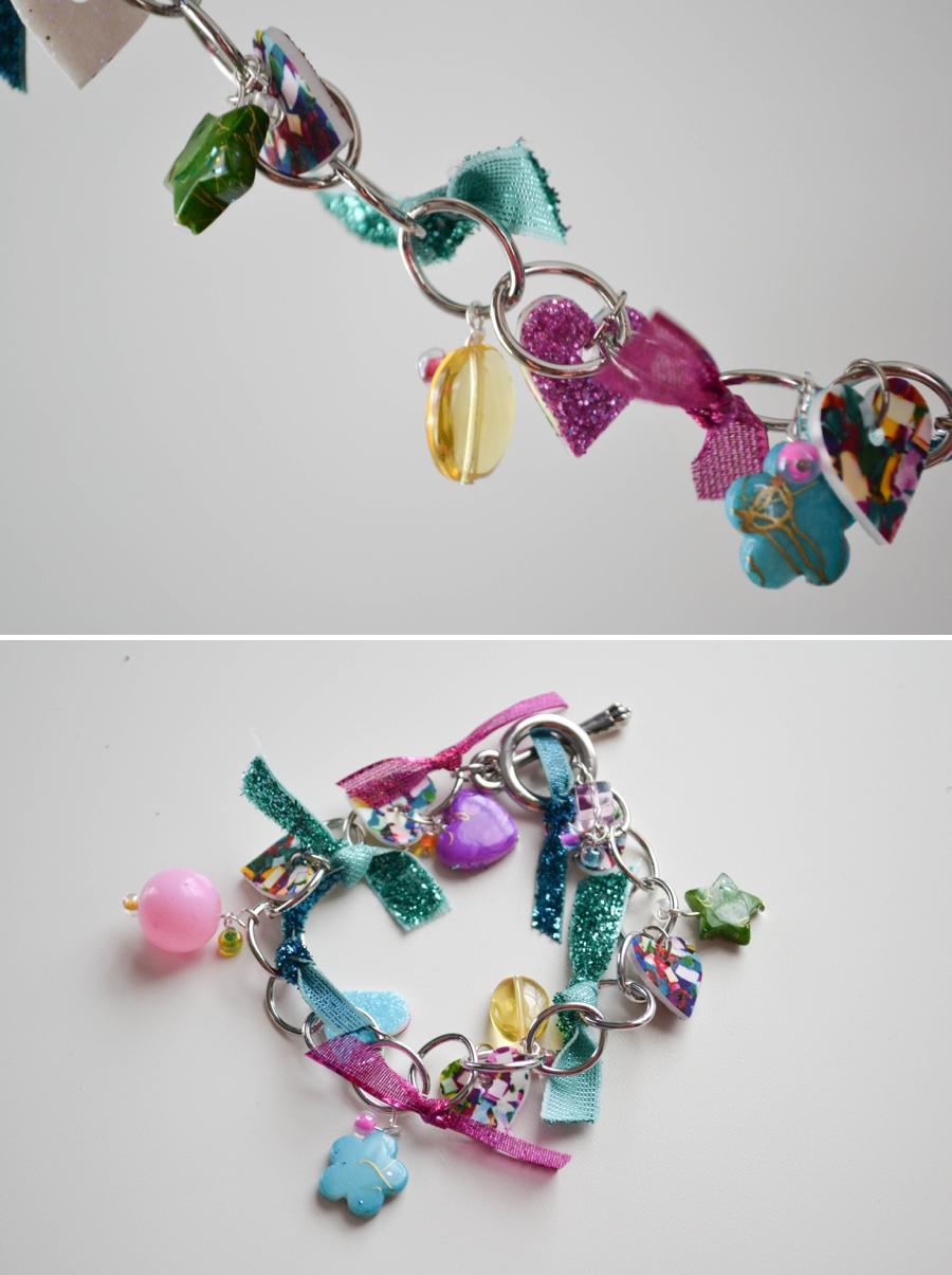 LoveColorful_Confetti Heart Charm Bracelets_0009