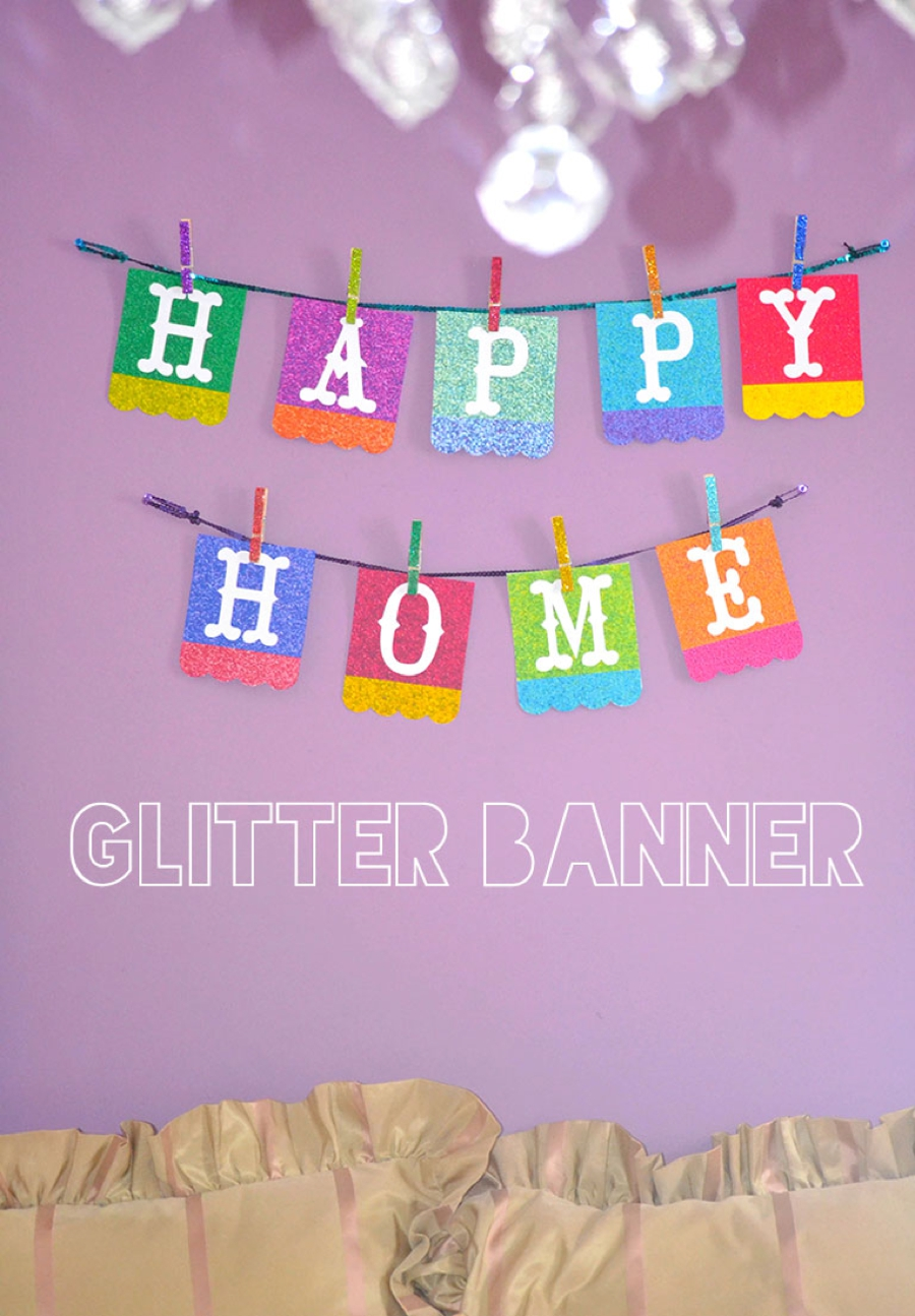 LoveColorful_Happy Home Glitter Banner_0001