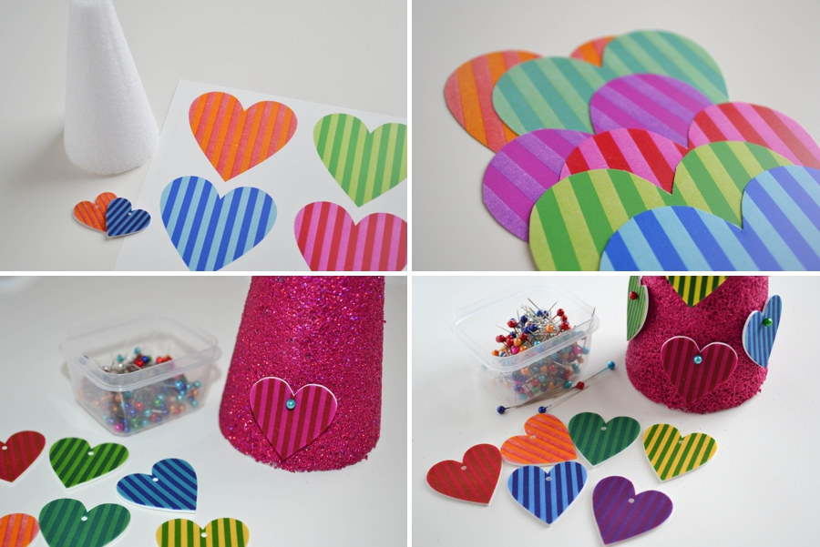 LoveColorful_Striped Heart Tree_0002