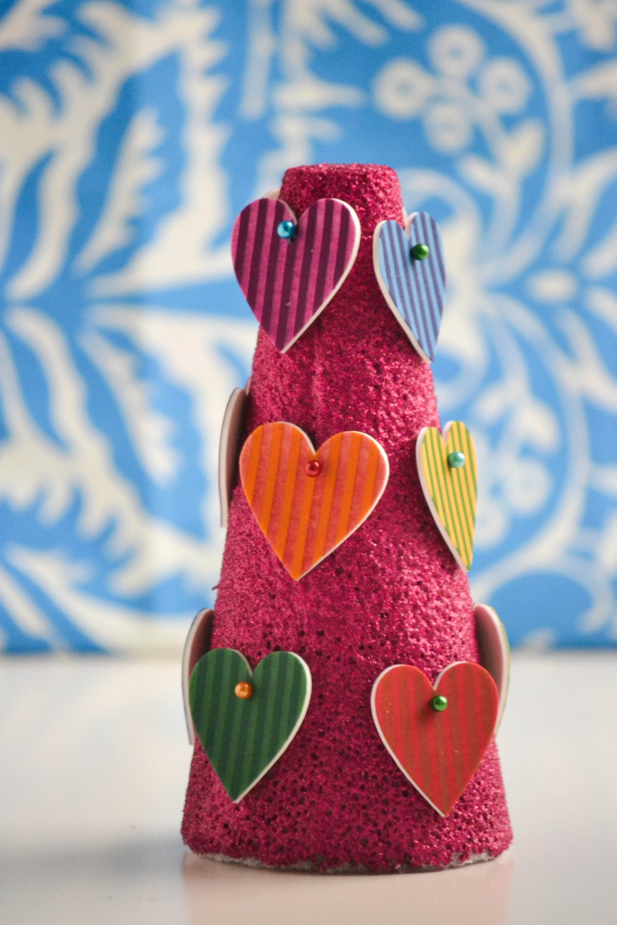 LoveColorful_Striped Heart Tree_0004